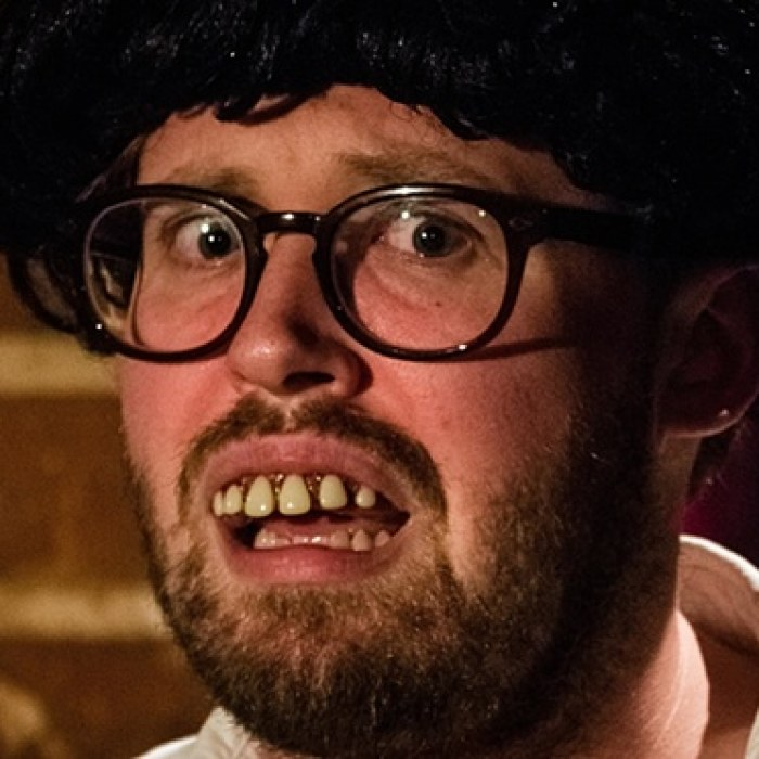 John Kearns review – too much shtick, too little substance