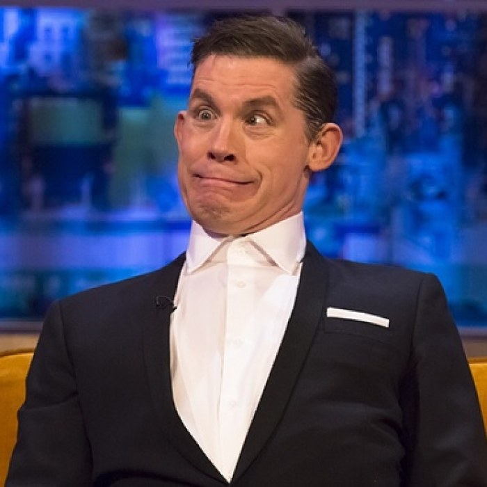 Lee Evans: sweaty, knotty tour de force